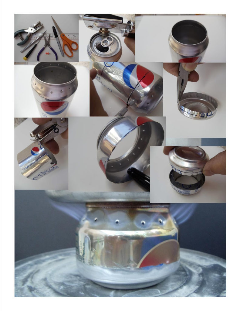 how to make soda can stove